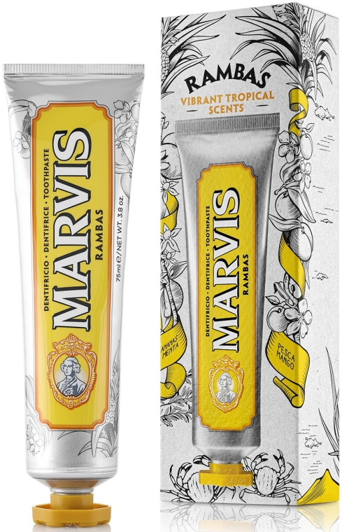 "Зубная паста ""Rambas"" - Marvis Rambas Limited Edition Toothpaste"