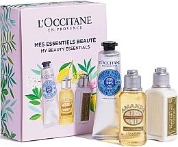 Духи, Парфюмерия, косметика Набор - L'Occitane My Beauty Essentials (h/cr/30ml + sh/oil/35ml + b/lot/30ml)