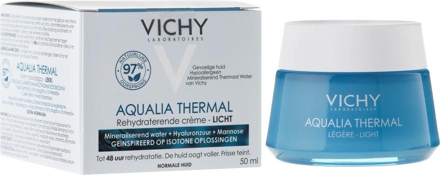 Крем увлажняющий легкий для нормальной кожи - Vichy Aqualia Thermal Light Cream