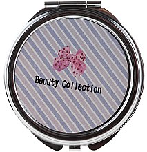 Духи, Парфюмерия, косметика Зеркальце круглое 85598, в косую линию - Top Choice Beauty Collection Mirror