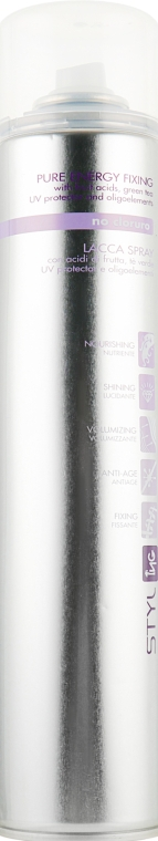 Лак-спрей - ING Professional Styl-Pure Energy Fixing