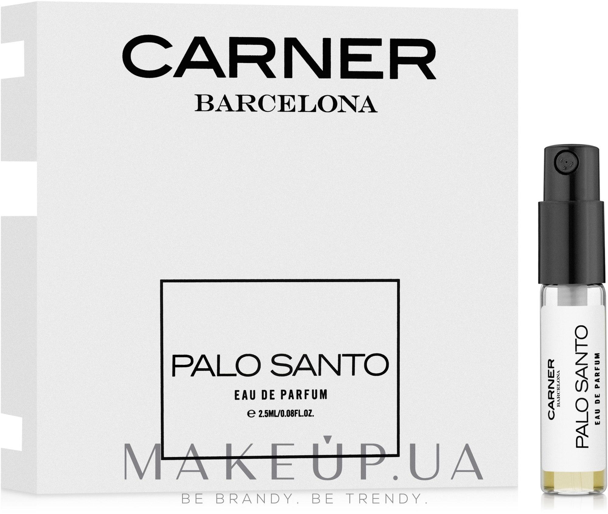 Carner Barcelona Palo Santo - Парфюмированная вода (пробник) — фото 2.5ml