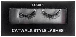 Духи, Парфюмерия, косметика Ленточные ресницы на черной основе-полоске в картонной коробке - Kodi Professional Catwalk Style Lashes