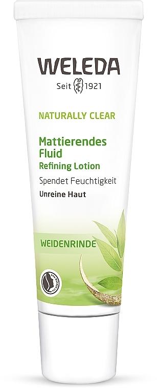 Матирующий флюид для комбинированной и жирной кожи - Weleda Naturally Clear