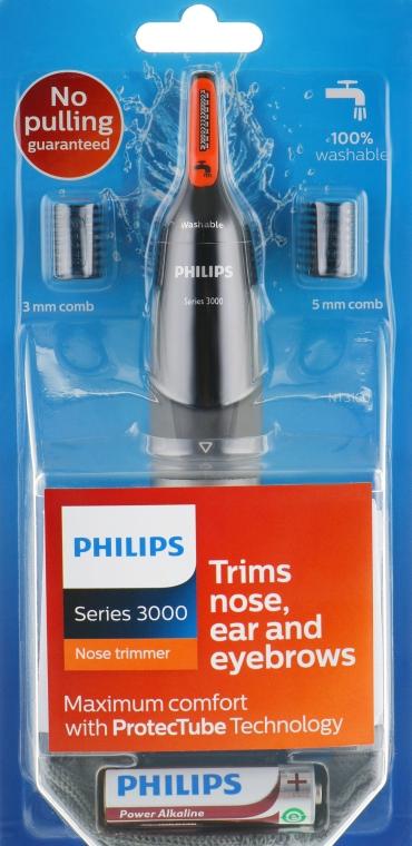 Триммер для носа и ушей - Philips Trimmer NT3160/10