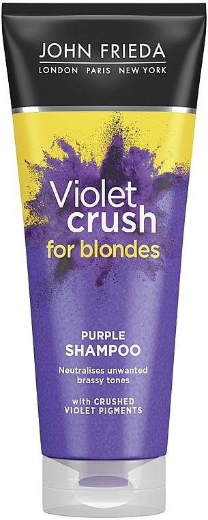 Шампунь для восстановления и поддержания оттенка осветленных волос - John Frieda Sheer Blonde Color Renew Shampoo