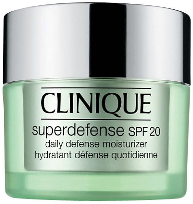 Увлажняющий крем против первых признаков старения для сухой и комбинированной кожи - Clinique Superdefence SPF 20 Daily Defence Moisturizer