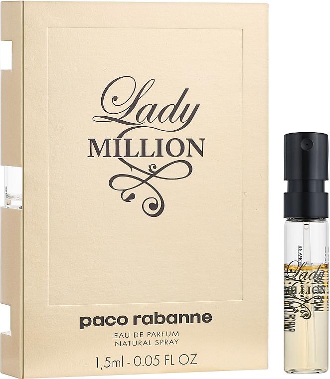 Paco Rabanne Lady Million - Парфюмированная вода (пробник)