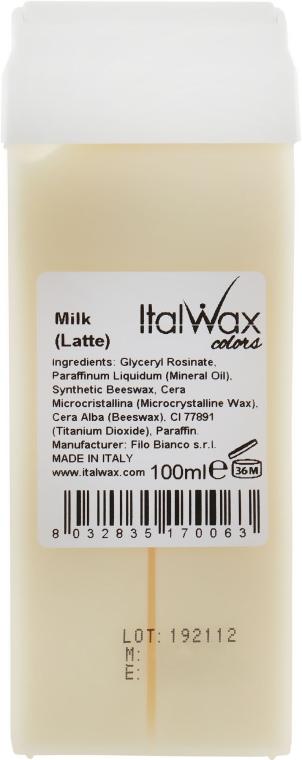 """Воск для депиляции в картридже """"Белый шоколад"""" - ItalWax Wax for Depilation"""