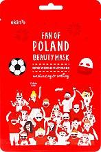 Духи, Парфюмерия, косметика Увлажняющая успокаивающая маска для лица - Skin79 Fan Of Poland Beauty Mask