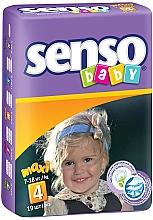 Духи, Парфюмерия, косметика Подгузники Senso Baby Maxi 4 (7-18 кг), 19 шт - Senso Baby