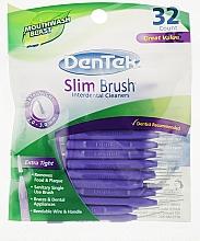 Духи, Парфюмерия, косметика Щётки ультра тонкие для очень узких межзубных промежутков - DenTek Slim Brush Cleaners Ultra Thin Tapered
