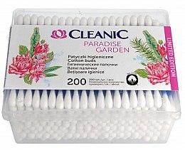 Духи, Парфюмерия, косметика Ватные палочки в прямоугольной упаковке - Cleanic Paradise Garden