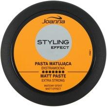 Духи, Парфюмерия, косметика Моделирующая матирующая паста для волос - Joanna Styling Effect Extra Strong Matt Paste