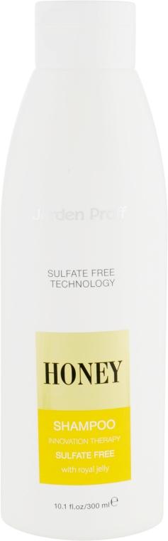Шампунь для волос бессульфатный медовый с маточным молочком - Jerden Proff Honey
