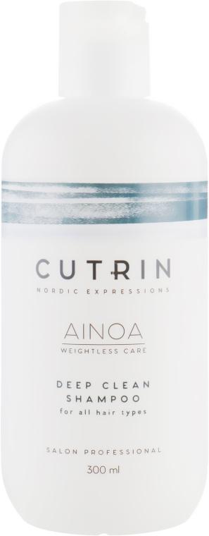 Шампунь для глубокого очищения - Cutrin Ainoa Deep Clean Shampoo