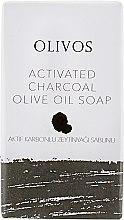 """Духи, Парфюмерия, косметика Натуральное оливковое мыло """"Активированный уголь"""" - Olivos Activated Charcoal Soap"""