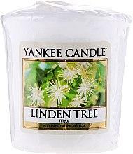 "Духи, Парфюмерия, косметика Ароматическая свеча ""Липа"" - Yankee Candle Scented Votive Linden Tree"