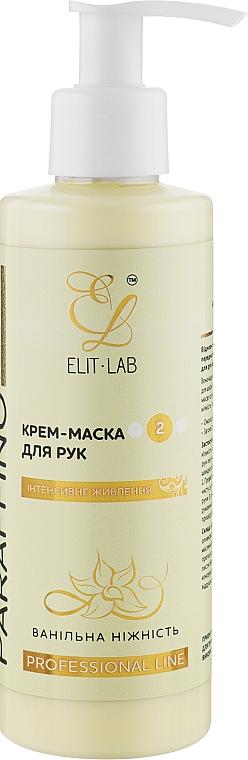 """Крем-маска для рук """"Ванильное наслаждение"""" - Elit-Lab"""