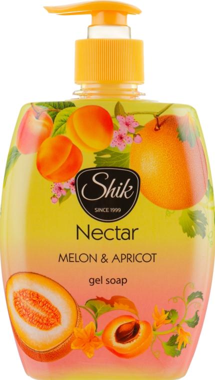 """Гель-мыло жидкое """"Дыня и абрикос"""", в полимерной бутылке - Шик Nectar"""