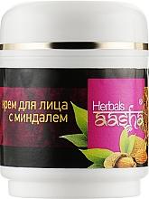 Духи, Парфюмерия, косметика Крем для лица с миндалем - Aasha Herbals Cream