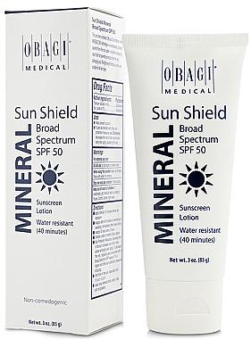 Солнцезащитный крем на минеральной основе - Obagi Medical Sun Shield Mineral Broad Spectrum SPF 50