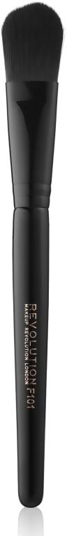 Кисть для тональных основ - Makeup Revolution Pro Foundation Brush F101