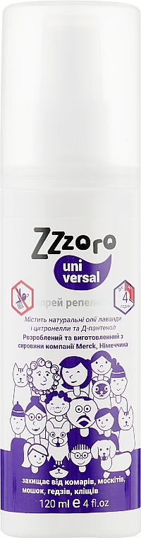 Спрей от комаров и клещей - Zzzoro Universal