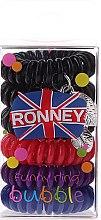 Духи, Парфюмерия, косметика Резинки для волос - Ronney Professional Funny Ring Bubble 12