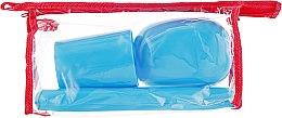 Духи, Парфюмерия, косметика Дорожный набор туалетных принадлежностей 98020, голубой - SPL