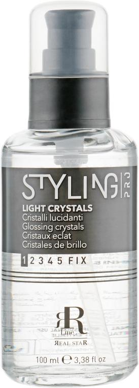 Жидкие кристаллы для блеска волос - RR LINE Styling Glossing Crystals