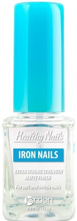 """Матовый закрепитель для ногтей """"Крепкие ногти"""" № 172 - Jerden Healthy Nails Iron Nails"""
