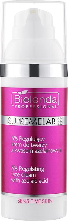 Восстанавливающий крем для лица с 5 % азелаиновой кислотой - Bielenda Professional SupremeLab Sensitive Skin 5 %