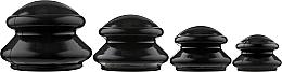 Духи, Парфюмерия, косметика Большие фигурные вакуумные антицеллюлитные банки - BlackTouch