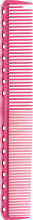 Парфумерія, косметика Гребінець для стрижки, 189мм - Y.S.Park Professional 336 Cutting Combs Pink