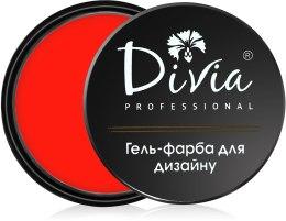 Духи, Парфюмерия, косметика Гель-краска для дизайна ногтей Di600 - Divia