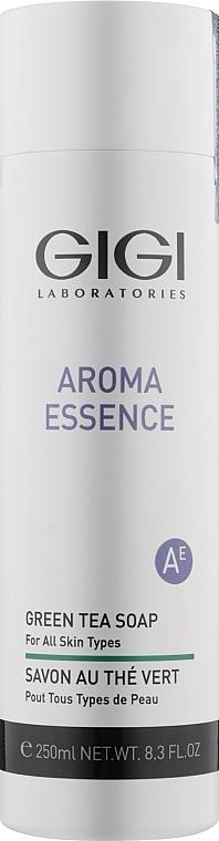 Мило з зеленим чаєм для всіх типів шкіри - Gigi Aroma Essence Green Tea Soap — фото N1