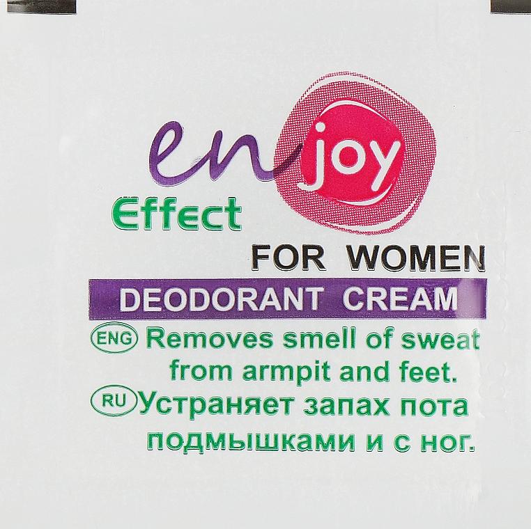 Эко-крем-дезодорант - Enjoy & Joy For Women Deodorant Cream (пробник)