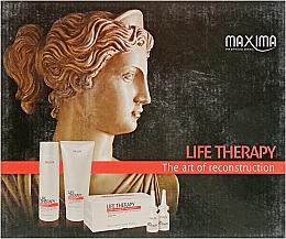Духи, Парфюмерия, косметика Набор - Maxima Life Therapy (mask/250ml + shmp/250ml + serum/6x12ml)