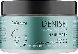 Духи, Парфюмерия, косметика Маска для объема тонких волос - Biopharma Energyn In Hair Mask