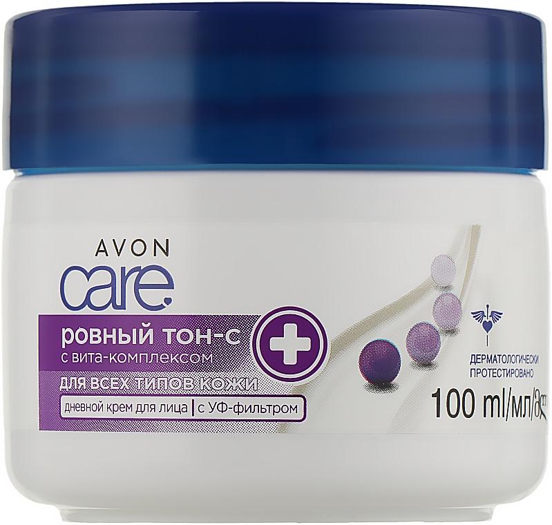 """Дневной крем """"Идеальный тон"""" - Avon Care Even Tone-C Facial Day Cream"""