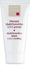 Духи, Парфюмерия, косметика Успокаивающая маска для лица - Mary Cohr MultiSensitive Mask