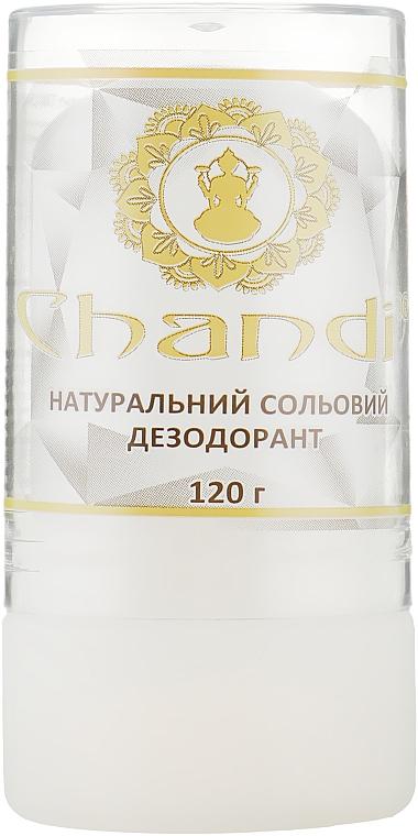Натуральный солевой дезодорант - Chandi