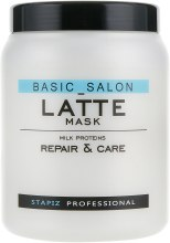 Духи, Парфюмерия, косметика Маска для волос с молочными протеинами - Stapiz Basic Salon Placent