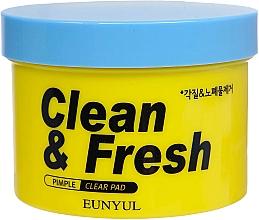 Духи, Парфюмерия, косметика Очищающие подушечки для лица с кислотами - Eunyul Skin Clean & Fresh Pimple Clear Pad