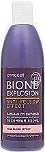 """Духи, Парфюмерия, косметика Оттеночный бальзам для нейтрализации желтизны Эффект """"Песочный блонд"""" - Concept Blond Explosion"""