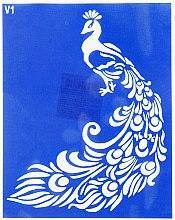 Духи, Парфюмерия, косметика Трафарет для боди-арта, 15х19см, V1 - Biofarma