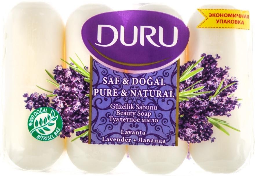 "Мыло ""Лаванда"" - Duru Pure & Natural Soap"