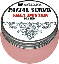 Духи, Парфюмерия, косметика Скраб для лица с маслом ши - Fergio Bellaro Facial Scrub Shea Butter