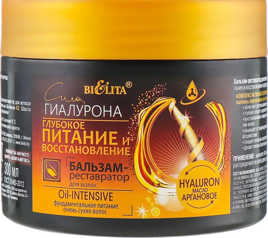 """Бальзам-реставратор для волос """"Глубокое питание и восстановление"""" - Bielita"""